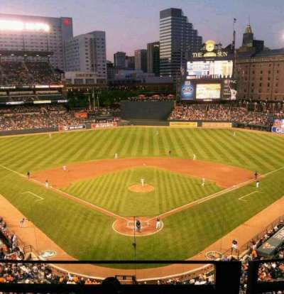 Oriole Park at Camden Yards, section: 336, row: 2, seat: 5