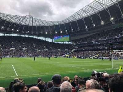 Tottenham Hotspur Stadium section 114