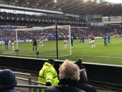 Cardiff City Stadium section 123