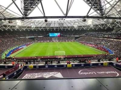 London Stadium section 250