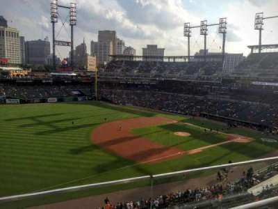 Comerica Park, section: 338, row: B, seat: 22
