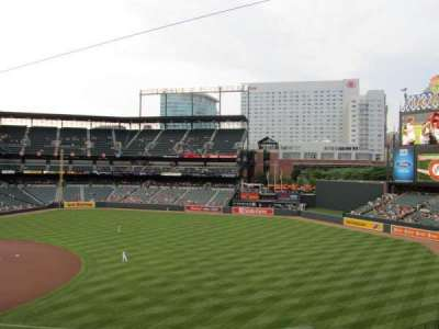 Oriole Park at Camden Yards, section: 214, row: 5, seat: 4