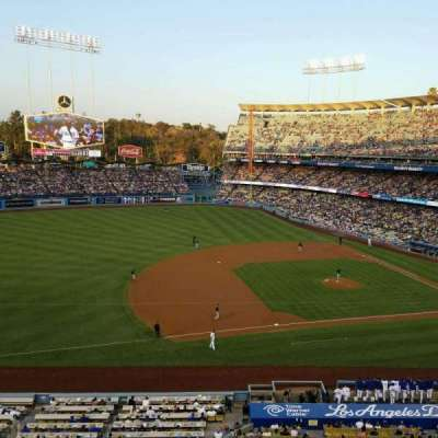 Dodger Stadium, section: 23RS, row: A, seat: 11