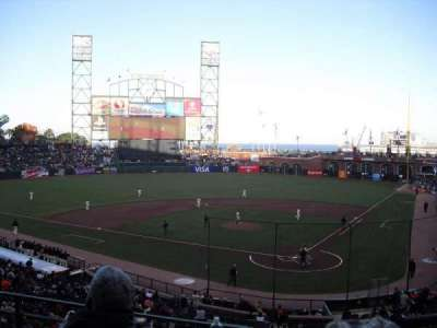 AT&T Park section 218