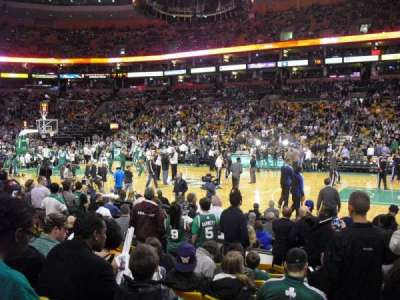 TD Garden section Loge 11