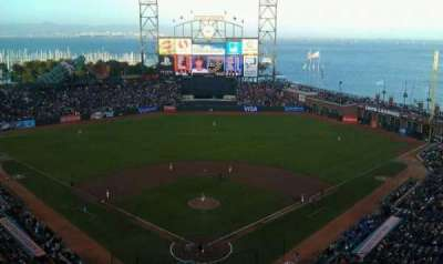 AT&T Park, section: 315, row: 11, seat: 8