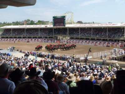 Calgary Stampede, section: 221, row: KK, seat: 124