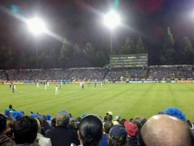 Stevens Stadium, section: 118, row: 8, seat: 2
