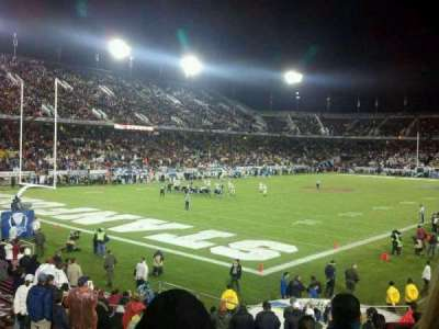 Stanford Stadium section 120