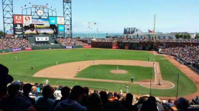 AT&T Park, section: 220, row: K, seat: 9