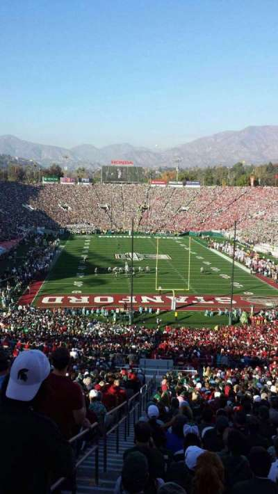 Rose Bowl section 25-H