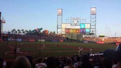 AT&T Park, section: 112, row: 27, seat: 16