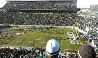 Spartan Stadium, section: 106, row: 3, seat: 25
