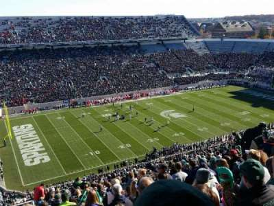 Spartan Stadium, section: 127, row: 28, seat: 20