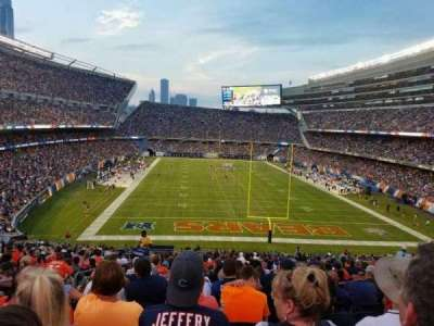 Soldier Field, section: 223, row: 22, seat: 6