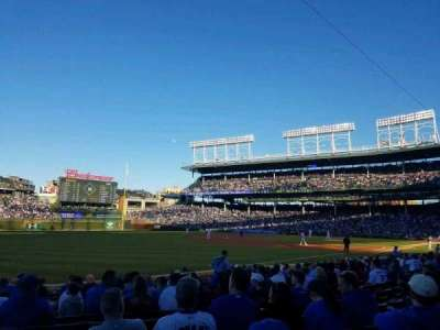 Wrigley Field, section: 105, row: 1, seat: 101
