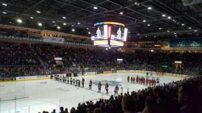 Ricoh Coliseum, section: 110, row: G