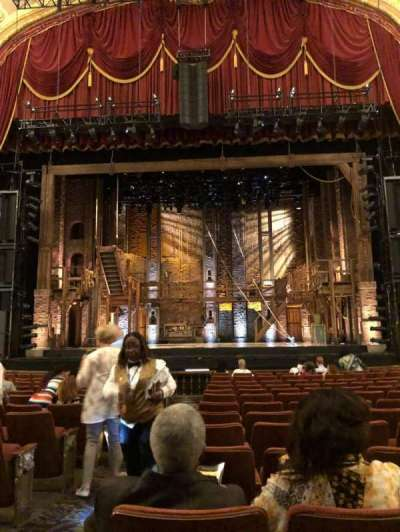 Orpheum Theatre (Memphis) section Orchestra RC