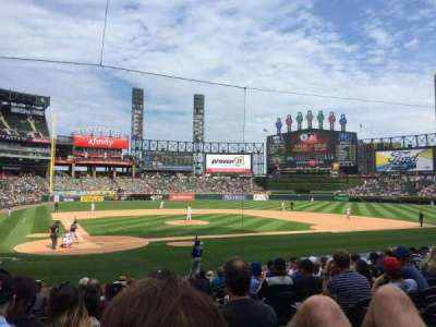 Guaranteed Rate Field, section: 129, row: 13, seat: 1