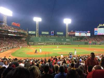 Fenway Park section B125