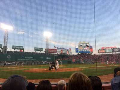 Fenway Park section F43