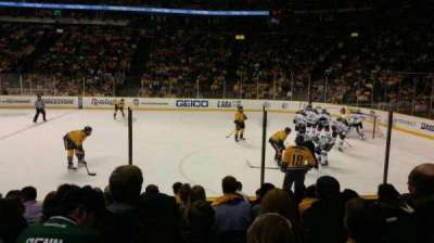 Bridgestone Arena, section: 117, row: HH, seat: 10