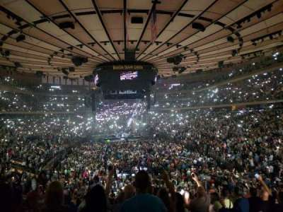 Madison Square Garden section 102