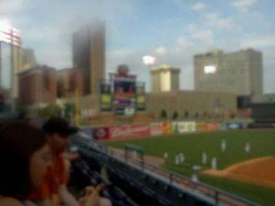 Fifth Third Field, section: 210, row: C, seat: 14