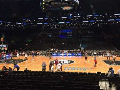 Barclays Center, section: 24, row: 15