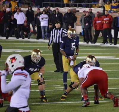 Notre Dame Stadium, section: 19, row: 6, seat: 28