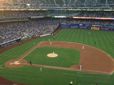 Citi Field, section: 408, row: 4, seat: 23