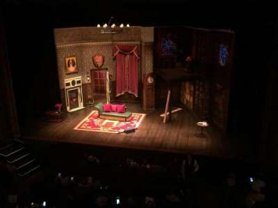 Lyceum Theatre (Broadway), section: Mezzanine, row: C, seat: 101