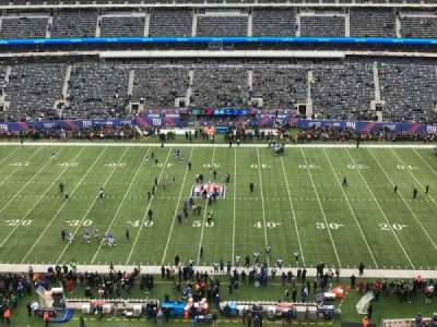 MetLife Stadium section 313