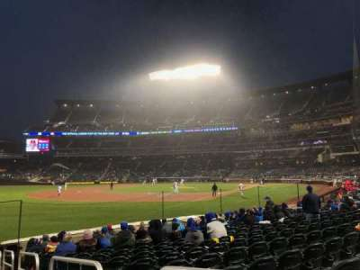 Citi Field, section: 128, row: 10, seat: 1