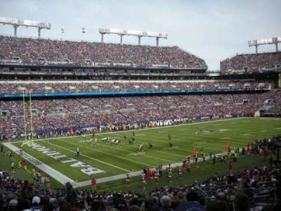 M&T Bank Stadium, section: 133, row: 34, seat: 11
