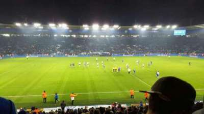 King Power Stadium, section: J1, row: X, seat: 193