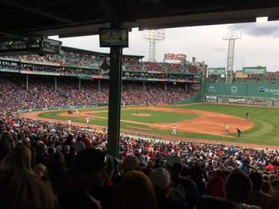 Fenway Park, section: Grandstand 13, row: 10, seat: 13