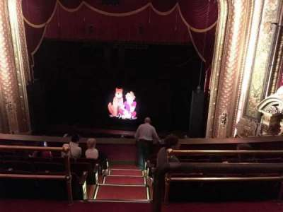Wang Theatre, section: BalcRC, row: F, seat: 2
