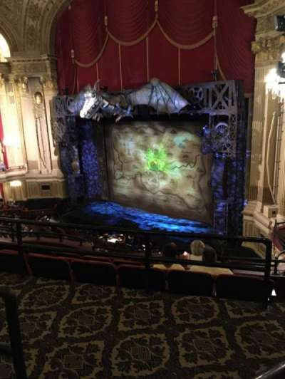 Boston Opera House, section: Mezzanine Right, row: B, seat: 30