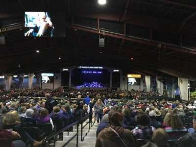 Bank of New Hampshire Pavilion, section: 3D, row: 30, seat: 1