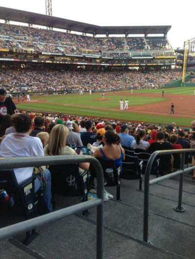 PNC Park, section: 107, row: R, seat: 18