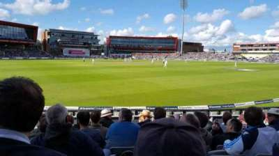 Old Trafford Cricket Ground, section: A6, row: 11, seat: 211