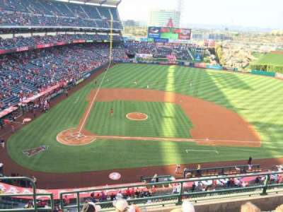Angel Stadium, section: V424, row: E, seat: 2