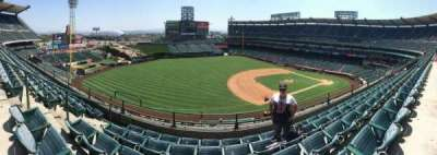 Angel Stadium, section: V410, row: B, seat: 8