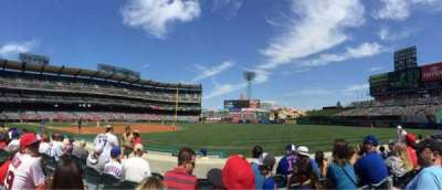 Angel Stadium, section: F128, row: e, seat: 6