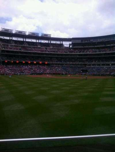 Nationals Park, section: 100, row: b, seat: 2