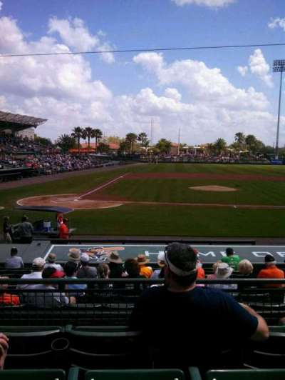 Ed Smith Stadium, section: 210, row: 4, seat: 8