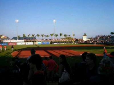 McKechnie Field, section: 11, row: 2, seat: 17