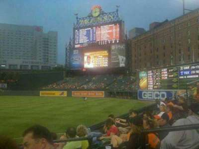 Oriole Park at Camden Yards section 12