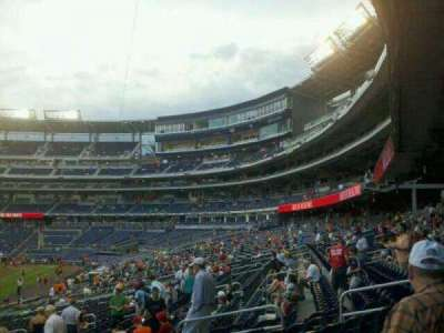 Nationals Park section 109